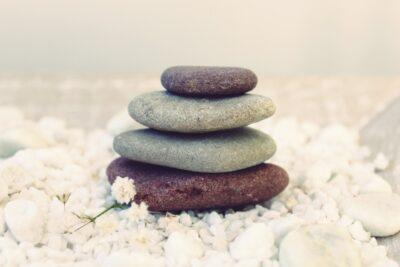 stones, meditation, balance